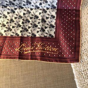 Louis Vuitton Accessories - Louis Vuitton Silk Square Scarf